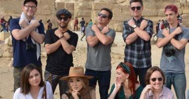 شاهد.. ماذا قال أشهر المدونين الأمريكيين بعد زيارتهم السياحية لمصر