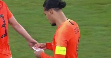 سر تحول مباراة ألمانيا وهولندا لصالح الطواحين.. فيديو وصور