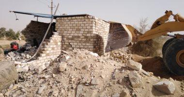 """محافظ سوهاج: إزالة 574 حالة تعدى على أراضى أملاك الدولة بحملة """"حق الشعب"""""""