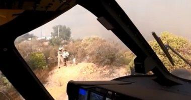 خفض عدد المفقودين في حرائق غابات كاليفورنيا إلى 25 شخصا