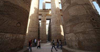 الآثار: حريق كافيتريا الأقصر لم يصل إلى معبد الكرنك