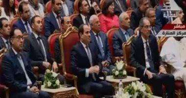 السيسي يصل مركز المنارة لافتتاح المؤتمر العربى الدولى الـ15 للثروة المعدنية