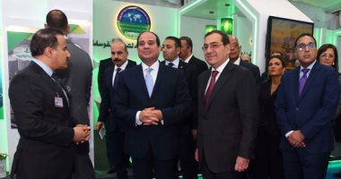 فيديو.. السيسى يؤكد أهمية الحفاظ على الثروات المعدنية الغنية فى مصر وحسن إدارتها