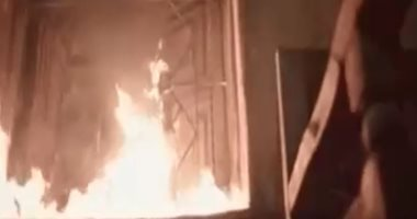 5 سيارات إطفاء للسيطرة على حريق جراج خاص بالقليوبية وتفحم 7 مركبات