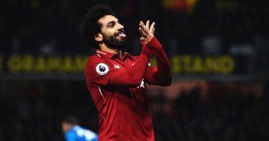 محمد صلاح يحرز هدف ليفربول الأول ضد نابولى فى الدقيقة 34