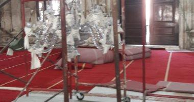 الآثار تنتهى من ترميم النجفة الثانية بمسجد محمد على بالقلعة × 12 شهرا