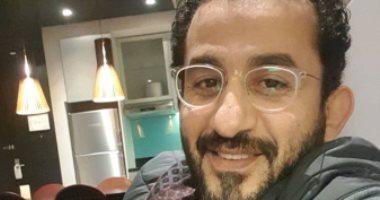 """أحمد حلمى: إذا حولت قصة حياتى لمسلسل سأسميه """"نكتة"""""""