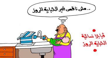 """""""الفياجرا الروز"""" تقلب حال البيوت فى كاريكاتير ساخر لـ""""اليوم السابع"""""""
