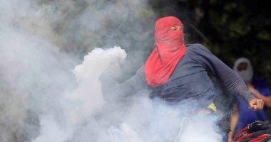 اشتباكات بين المتظاهرين وقوات الأمن فى احتجاجات ضد رئيس هندوراس