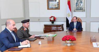 السيسى يجتمع بكامل الوزير ويوجه بالإسراع فى تنفيذ مشروعات مدينة الروبيكى