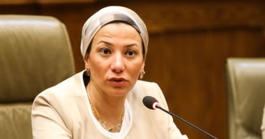 وزيرة البيئة تلتقى السكرتيرة التنفيذية لاتفاقية تغير المناخ