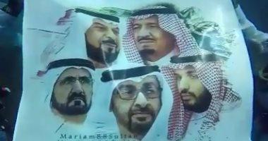 سعوديون يهنئون الإمارات باليوم الوطنى الـ47 من أعماق البحار.. فيديو