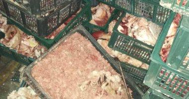 ضبط 577 كيلو لحوم ودجاج وكبدة غير صالحة بـ 5 مراكز بالدقهلية