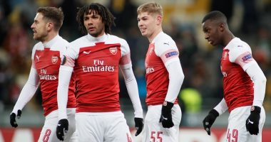 Egyptian Clash between Arsenal and Huddersfield today in the series of England - the seventh day
