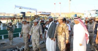 2100 طن من المشتقات النفطية السعودية تصل اليمن لدعم محطات الكهرباء