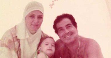 صور تنشر لأول مرة من حياة حسن يوسف وشمس البارودى