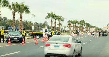 المرور يضبط 3750 مخالفة مرورية بمحاور وميادين الجيزة خلال 24 ساعة -