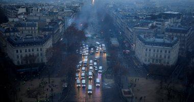 شوارع باريس تتحول إلى ساحة حرب واعتقال 412 متظاهراً