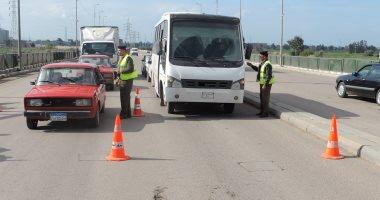 المرور يحرر 3970 مخالفة مرورية بمحاور وميادين الجيزة خلال 24 ساعة