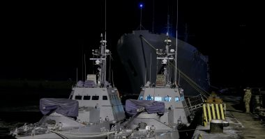 روسيا تحتجز 3 سفن أوكرانية بميناء بحر آزوف