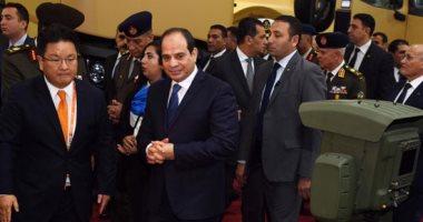 """السيسي يؤكد تطلع مصر لمواصلة التعاون مع """"داسو"""" الفرنسية بالصناعات الحربية"""