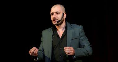 """زياد يوسف يقدم """"حكى شعبى"""" فى الملتقى الإبداعى الأول لطلاب أكاديمية الفنون"""