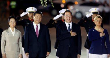 صور.. الرئيس الصينى يصل بنما لتوقيع عدة اتفاقيات تعاون للاستثمار