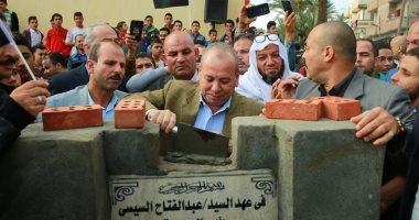 محافظ كفر الشيخ يضع حجر أساس عددٍ من المشروعات بـ300 مليون جنيه