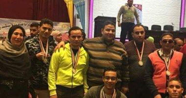 جامعة الزقازيق تفوز بـ15 ميدالية ذهبية وفضية فى بارالمبياد الجامعات المصرية