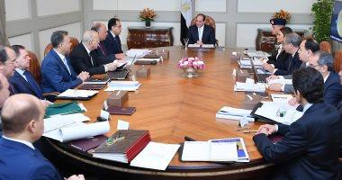 الرئيس السيسى يجتمع بالحكومة لضبط الأسواق وحماية المستهلك