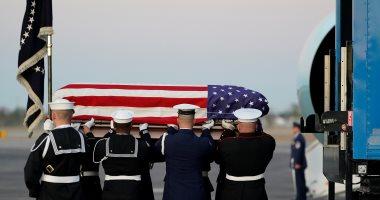 انطلاق مراسم جنازة الرئيس الأمريكى جورج بوش الأب