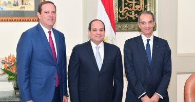 """السيسي يؤكد استعداد مصر لدعم """"سيسكو سيستمز"""" الأمريكية لزيادة استثماراتها"""