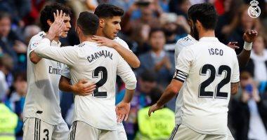 ريال مدريد يكتسح ميليا بثلاثية فى الشوط الأول بكأس إسبانيا.. فيديو