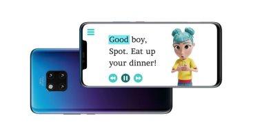 تطبيق StorySign من هواوي يساعد الأطفال الصُم على القراءة ويعلم لغة الاشارة
