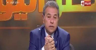 """توفيق عكاشة: الجناح المصرى بمعرض """" إيديكس""""  حقق معجزة"""
