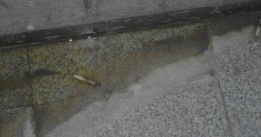 قارئ يشكو من عدم نظافة مستشفى أبو قير بالإسكندرية