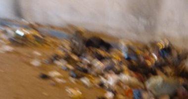 قارئ يشكو انتشار القمامة أسفل الدائرى اتجاه أحمد عرابى
