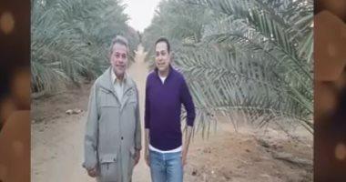 Tawfiq Okasha elogia la granja Hakim: el agua del Nilo será su sangre y los tejidos del cuerpo del suelo de Egipto