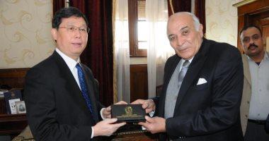 رئيس استئناف القاهرة لوفد القضاء الصينى: مصر ليس بها اعتقالات