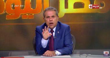 """توفيق عكاشة: التلفزيون المصرى أكثر انضباطًا.. والإنتاج الإعلامى يعانى """"الفهلوة"""""""