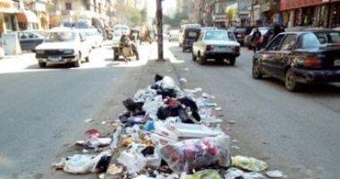 قارئ يشكو انتشار القمامة فى شارع أحمد عصمت بعين شمس