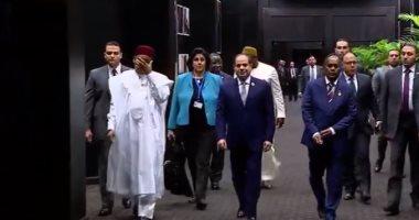السيسي: مصر قطعت شوطا طويلا على طريق الإصلاح الاقتصادى والاجتماعى
