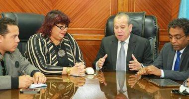 وزيرة الثقافة: جميع أجهزة الدولة تتعاون لتحقيق التنمية الشاملة ونشر الوعى