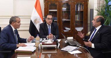 رئيس الوزراء يستعرض مع وزيرى التموين والزراعة خريطة المنتجات والسلع الزراعية