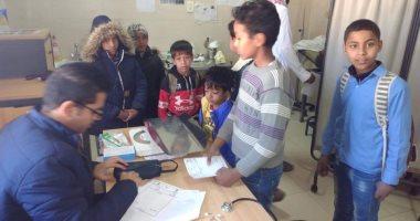 قوافل الإصحاح البيئي بجامعة قناة السويس تعالج 294 حاله بشرية برأس سدرجنوب سيناء