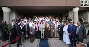 صور ..رئيس قضايا الدولة يستقبل وفدا  قضائيا من وزارة العدل والنيابة العامة السعودية