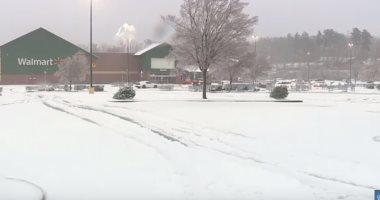شاهد.. حجم خسائر العاصفة الثلجية فى جنوب شرق الولايات المتحدة الأمريكية