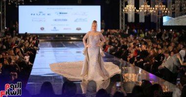 نيكول سابا تتألق بفستان زفاف بـ200 مليون جنيه بديفيليه هانى البحيرى