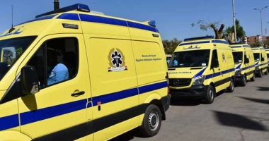 اصابة 10 أشخاص فى 3 حوادث متفرقة على طرق الساحل الشمالى