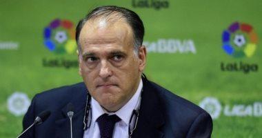 رغم تحذيرات وزير الصحة الإسباني.. رئيس الليجا يتوقع عودة التدريبات 4 مايو